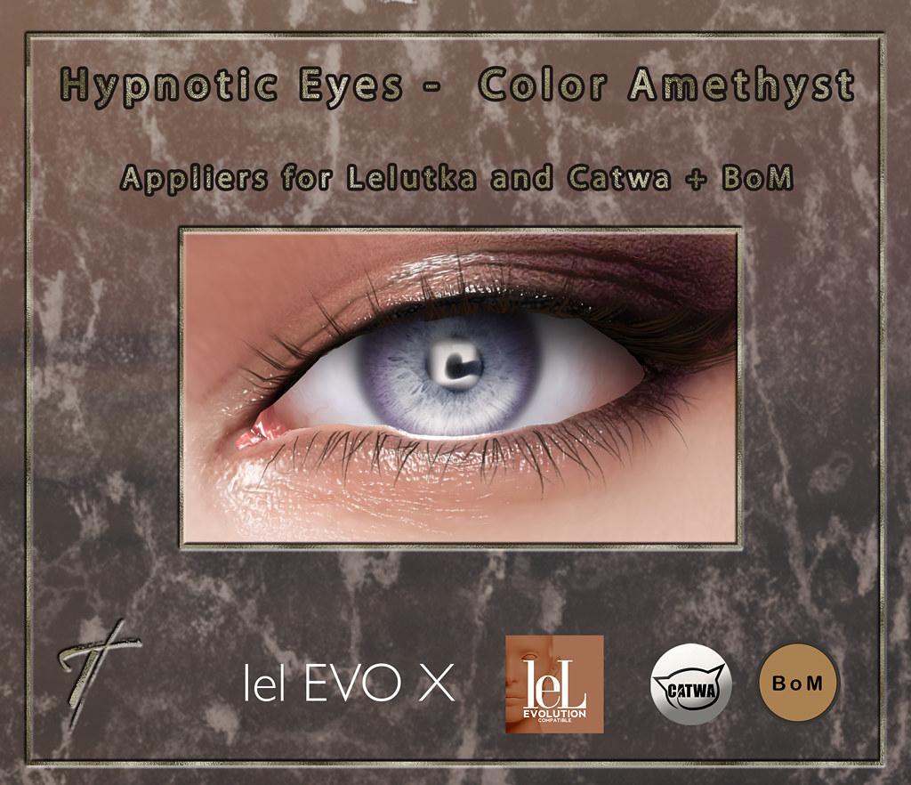 Tville – Hypnotic Eyes *amethyst*