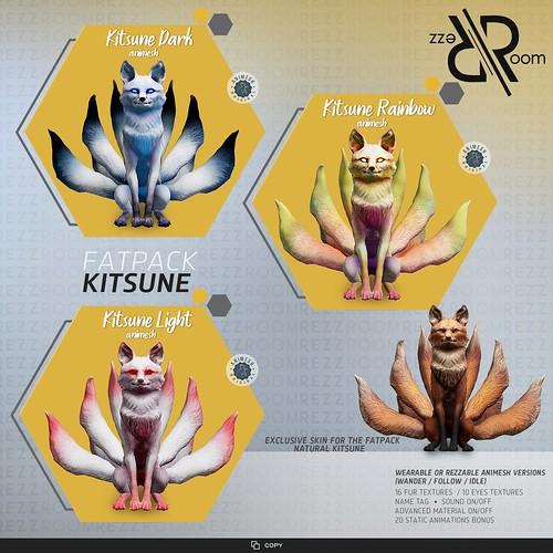 [REZZ ROOM] KITSUNE ANIMESH COMPANION