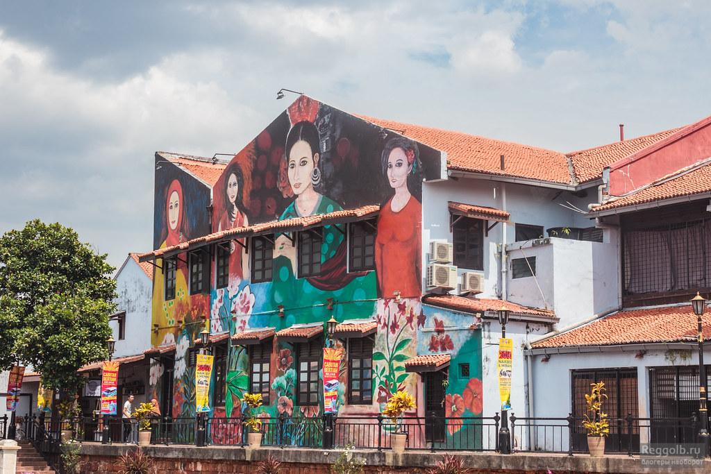 Муралы и граффити в Малайзии