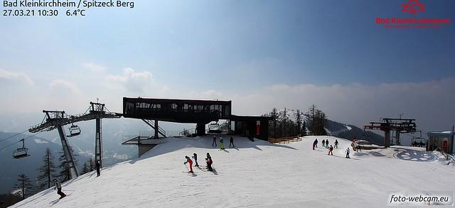 Wintersport vormittags
