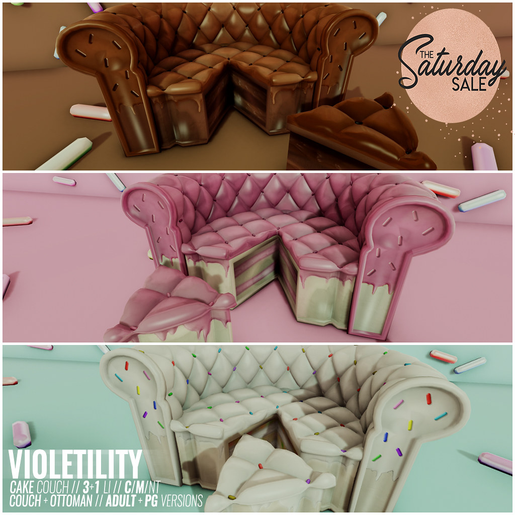 Violetility – Cake Couches