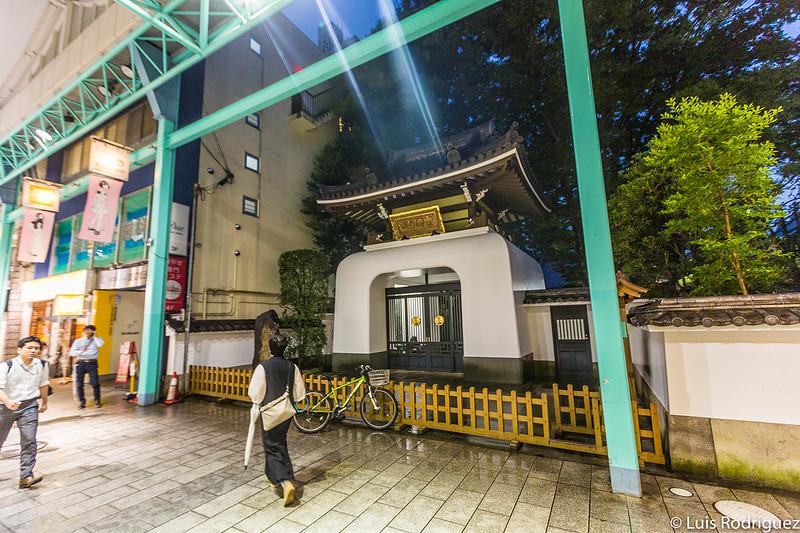 Templo Gessoji desde Sushine Road