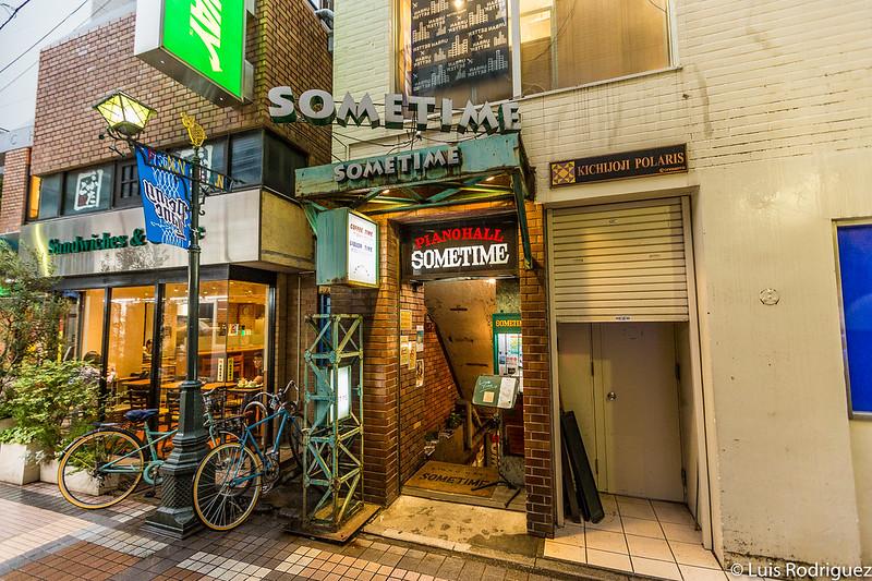Sometime, local de jazz en Kichijoji