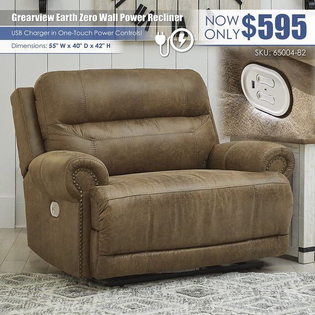Grearview Earth Power Recliner_65004-82