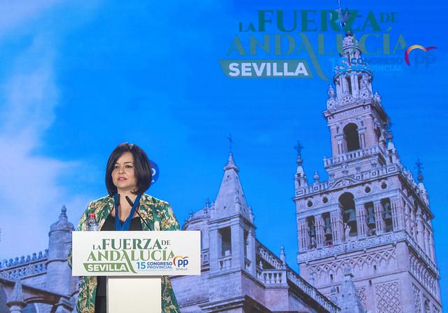 Virginia Pérez 15 Congreso Provincial PP Sevilla
