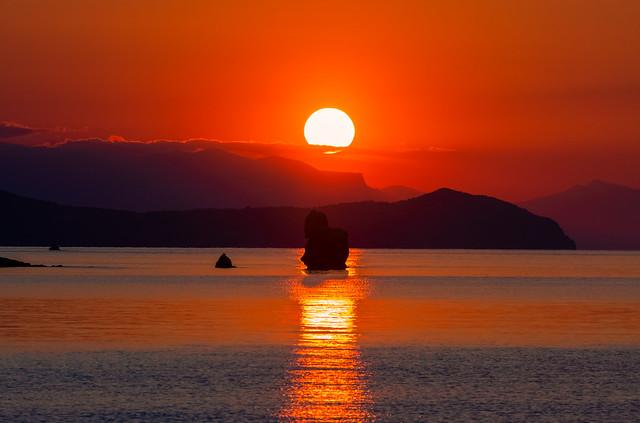 A magical sunset