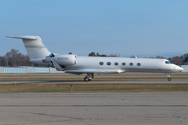 N767CW Gulfstream GV 520 KPTK