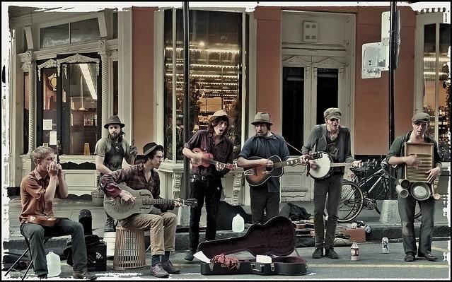 N'Orleans street band