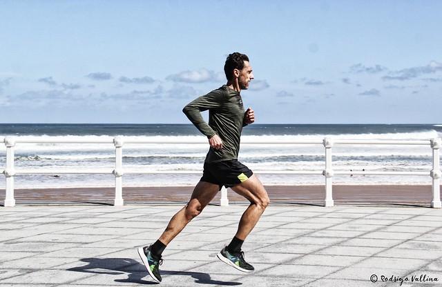 Corriendo cerca del mar