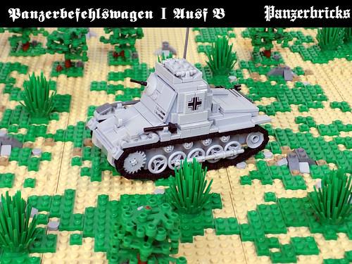Panzerbefehlswagen I SdKfz 265 de Panzerbricks