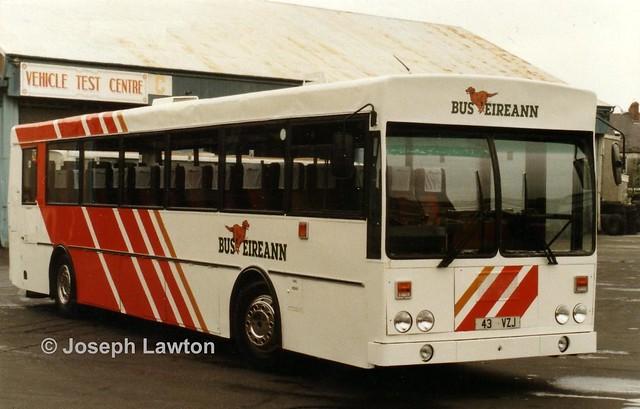 Bus Éireann KE43 (43VZJ).