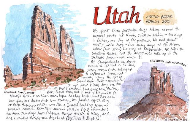 Utah hiking trip