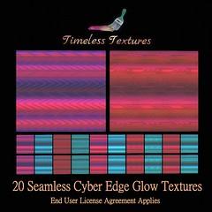 TT 20 Seamless Cyber Edge Glow Timeless Textures