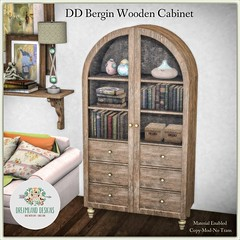DD Bergin Wooden Cabinet-Ad