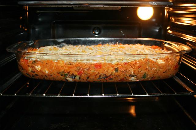 41 - Gratinate in oven / Im Ofen überbacken
