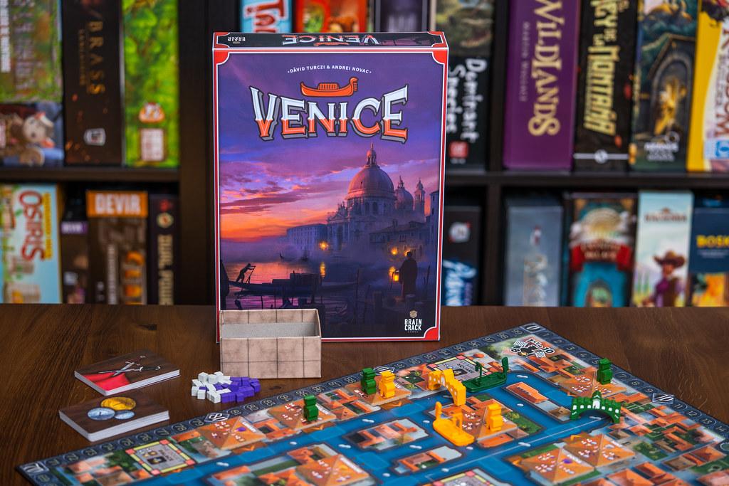 Venice boardgame juego de mesa