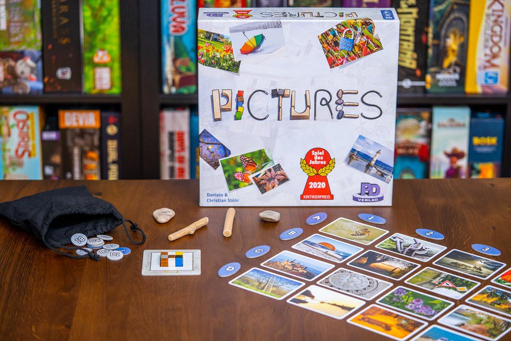 Pictures boardgame juego de mesa