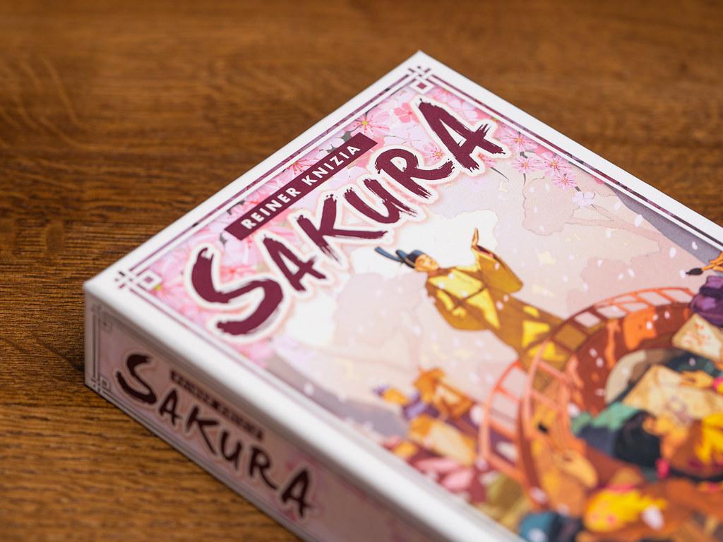 Sakura boardgame juego de mesa