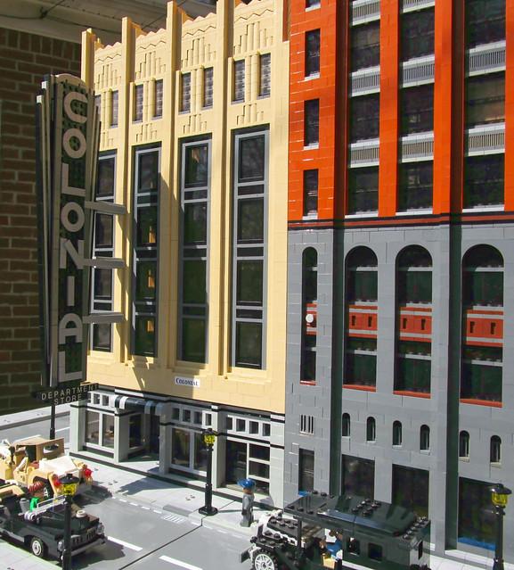 Colonial Department Store, Detroit - LEGO Model