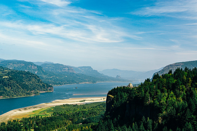 Columbia River Gorge from the Portland Women's Forum State Scenic Viewpoint [Explored]