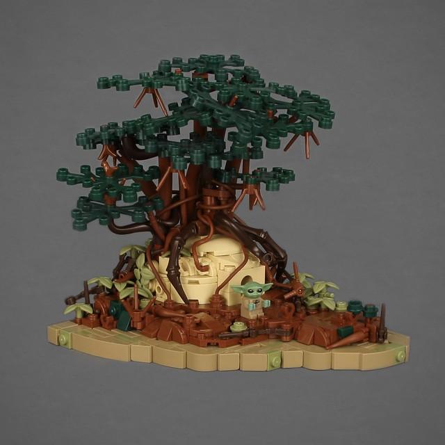 (Baby) Yoda's Hut