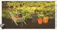 New release : Spring Gardening Set @ Secret Sale Sundays