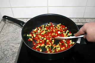 10 - Braise vegetables / Gemüse-anbraten