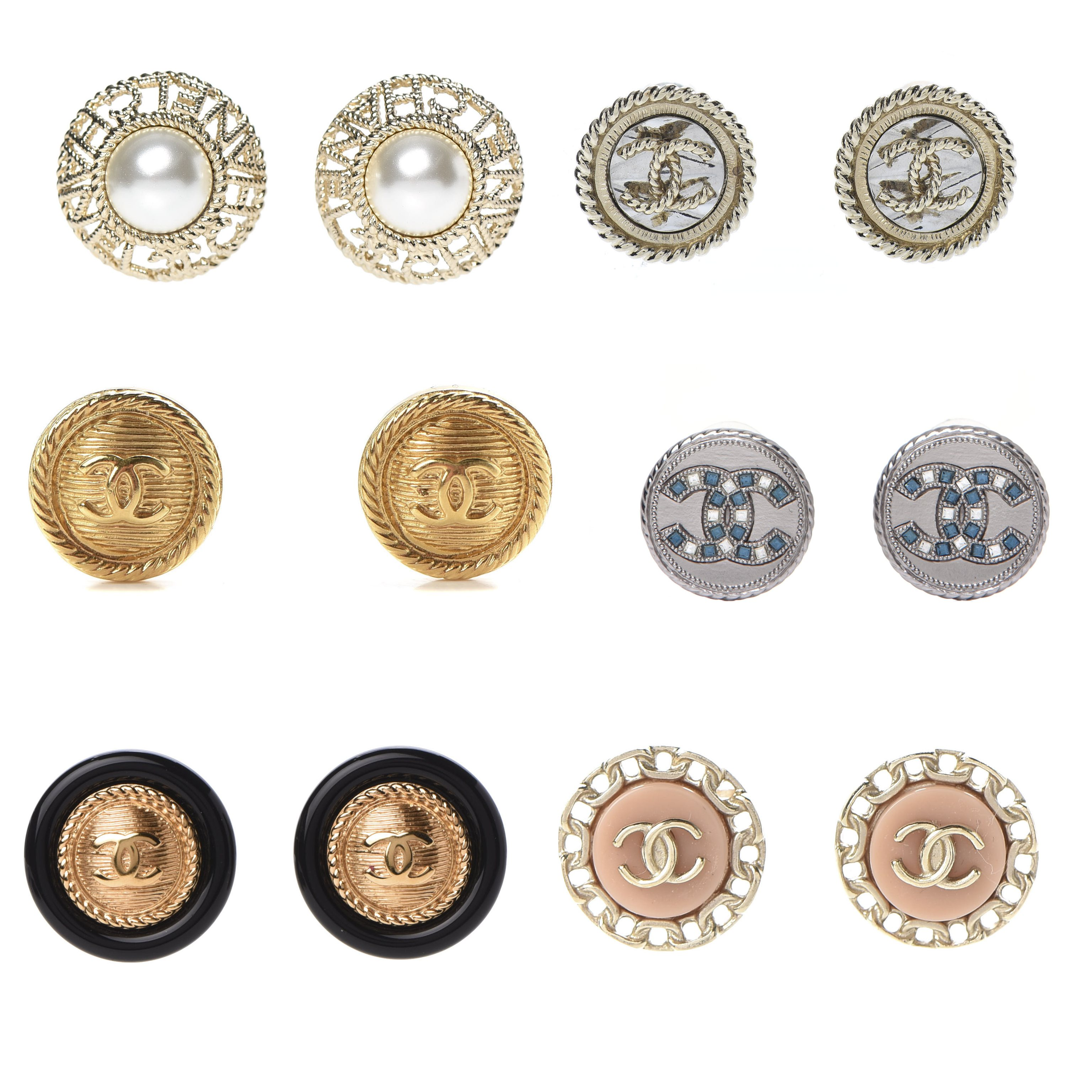 ChanelButtonEarrings_SydneysFashionDiary