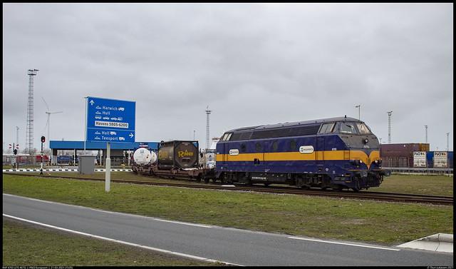 RXP 6703 || P&O Europoort || 21-03-2021 (15:05)