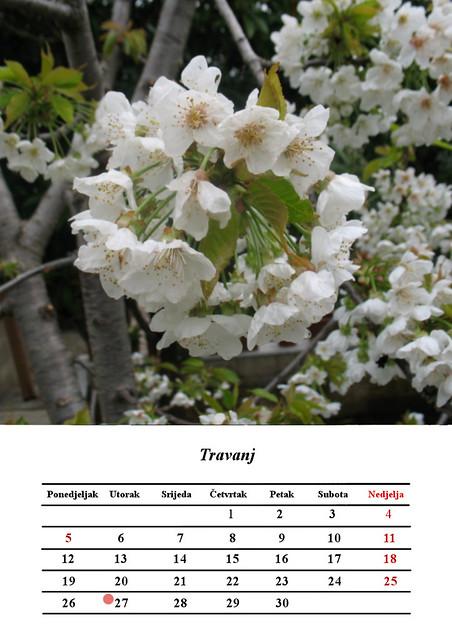 4 Travanj, April