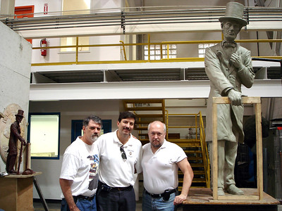 Visit to Polich Foundry 2006