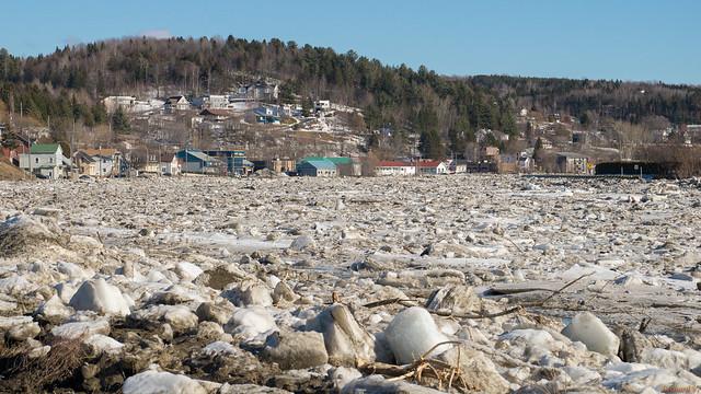 Inondation 2016 - Rivière Chaudière, Beauceville, PQ, Canada - 7442