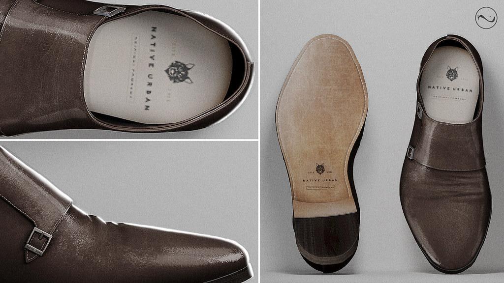 NATIVE URBAN – Double Monk Shoes