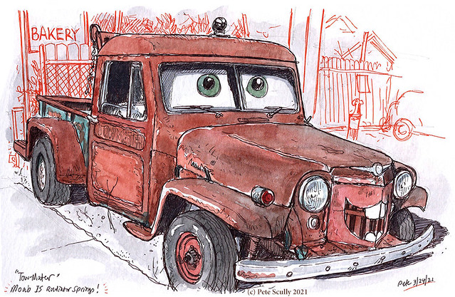 Tow Mater in Moab