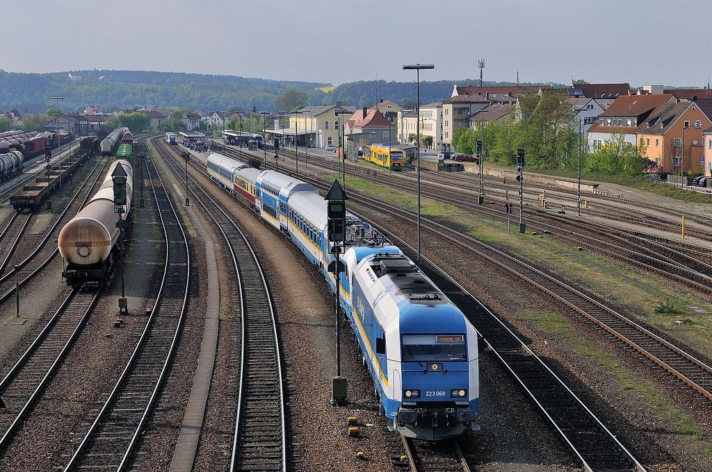 Schwandorf, VBG 223 069 + 183 005