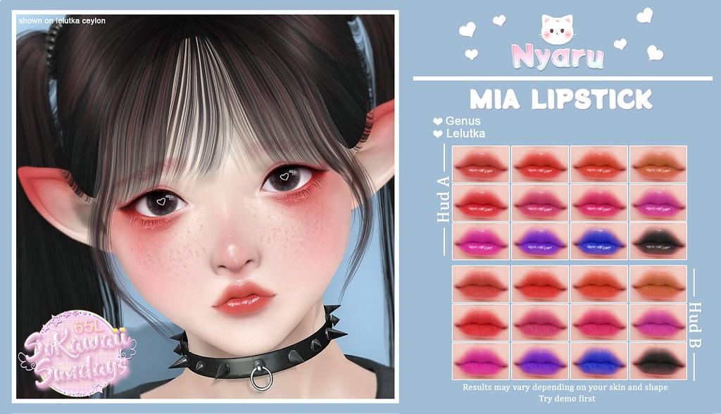 Nyaru - Mia Lipstick for SoKawaii Sundays ♡