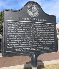 Governor John Houston Marker (Perry, Georgia)