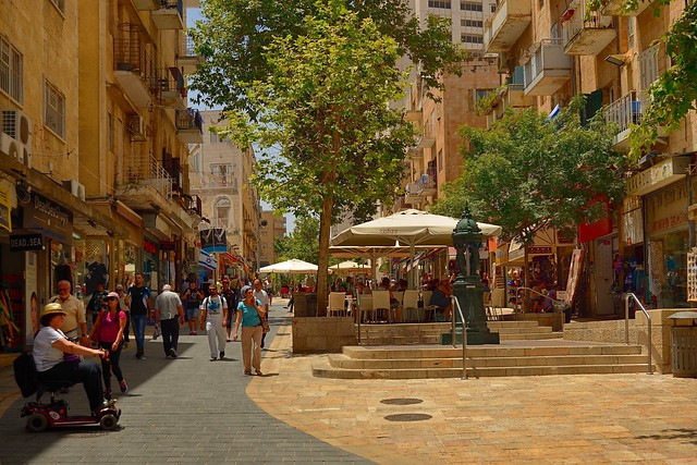 Jerusalem /  Ben Yehuda Street