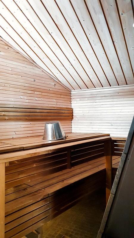 Halla Resort, sauna