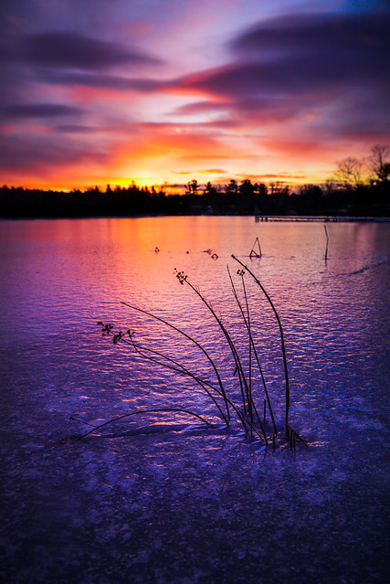 Cold Sunrise - Explore
