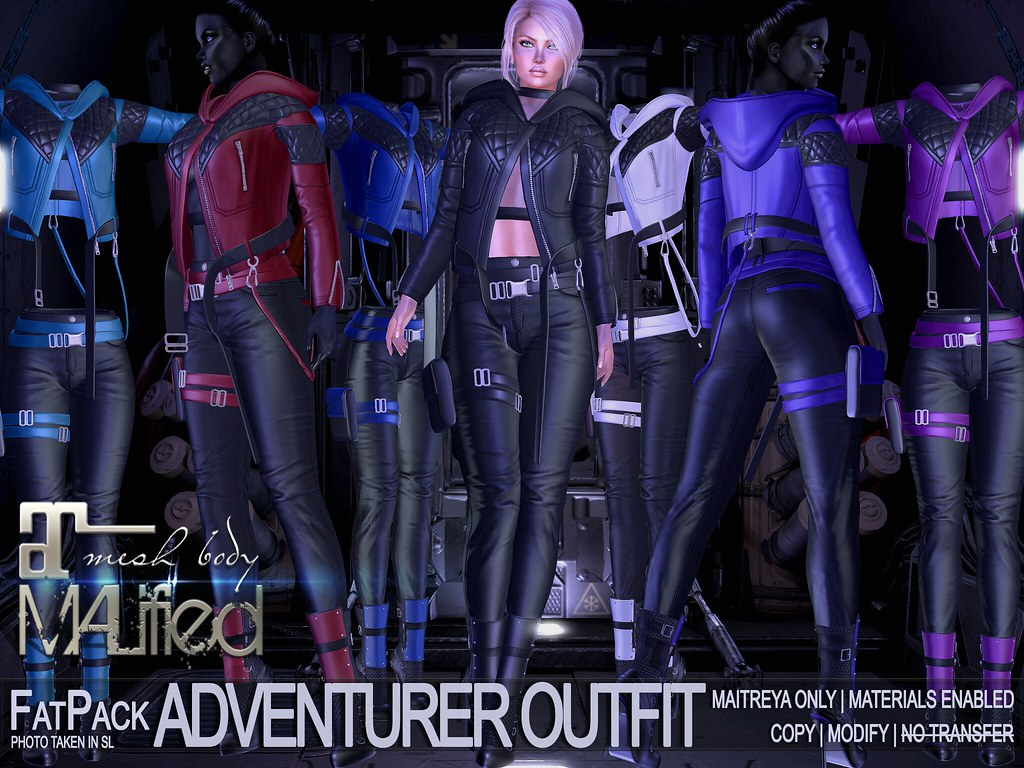 MALified – Adventurer Outfits – FatPack