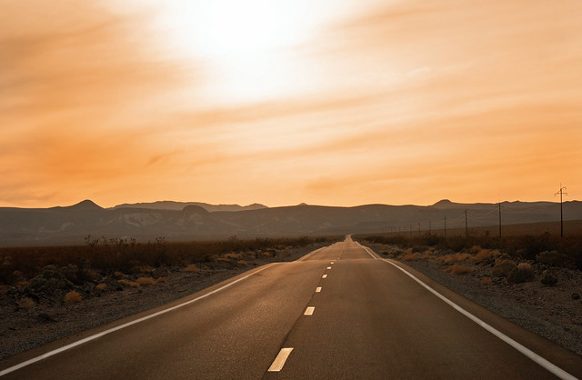 Racing the Sun - Death Valley California
