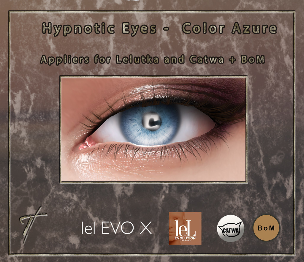 Tville – Hypnotic Eyes *azure*
