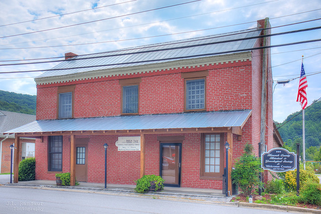 Hancock County Historical & Genealogical Society (circa 1860 Jail) - Sneedville, Tennessee