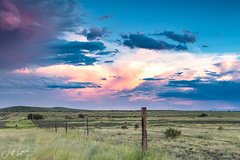 Evening Clouds - Jeff Davis County, Texas