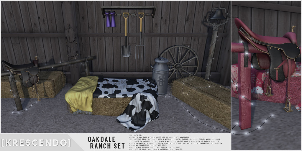 [Kres] Oakdale Ranch Set