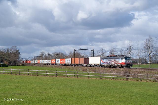 RFO 189 213 met Cabooter naar Venlo, 27 maart 2021
