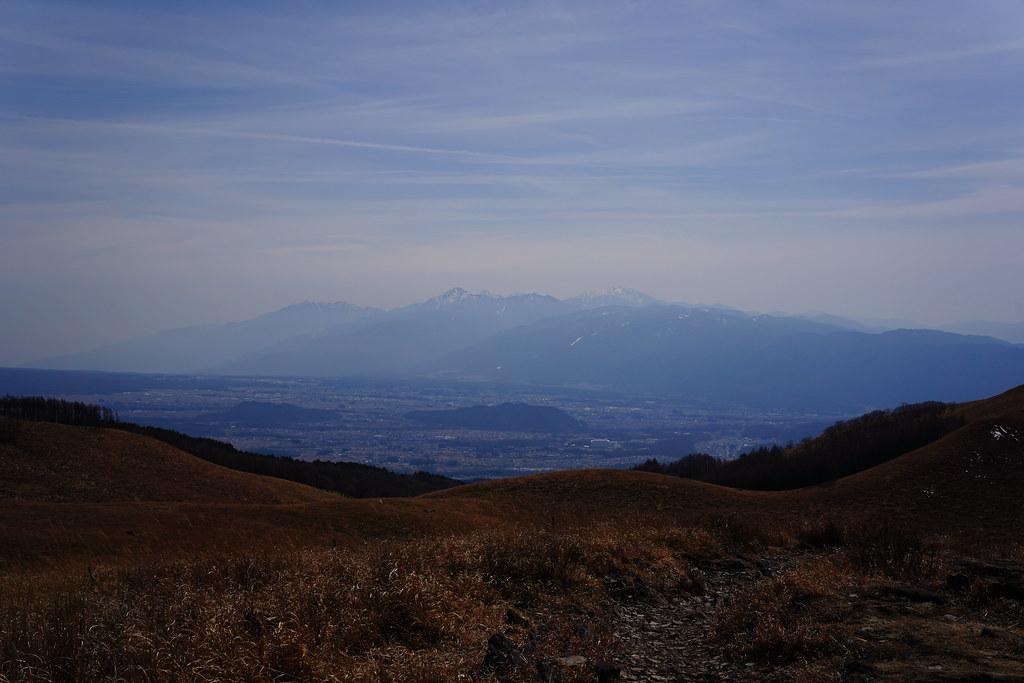 霧ヶ峰より