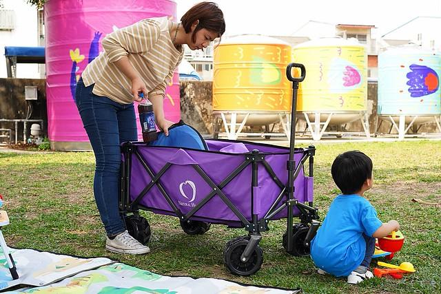 機能型薰衣紫手拉車