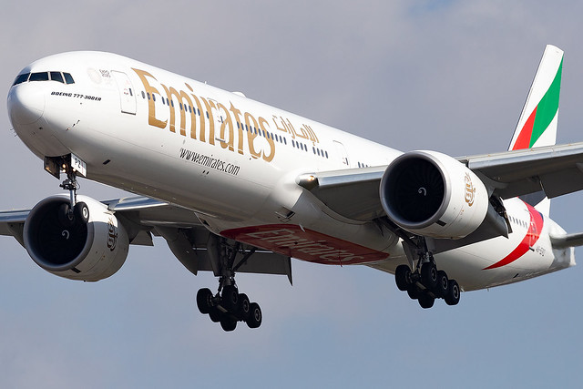 A6-EPZ Emirates Airline B777-300 London Heathrow